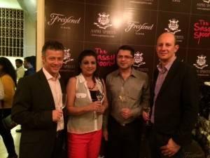 Suneeta with Jackie Matai, Damian Clarke and Philippe Jamme (1)