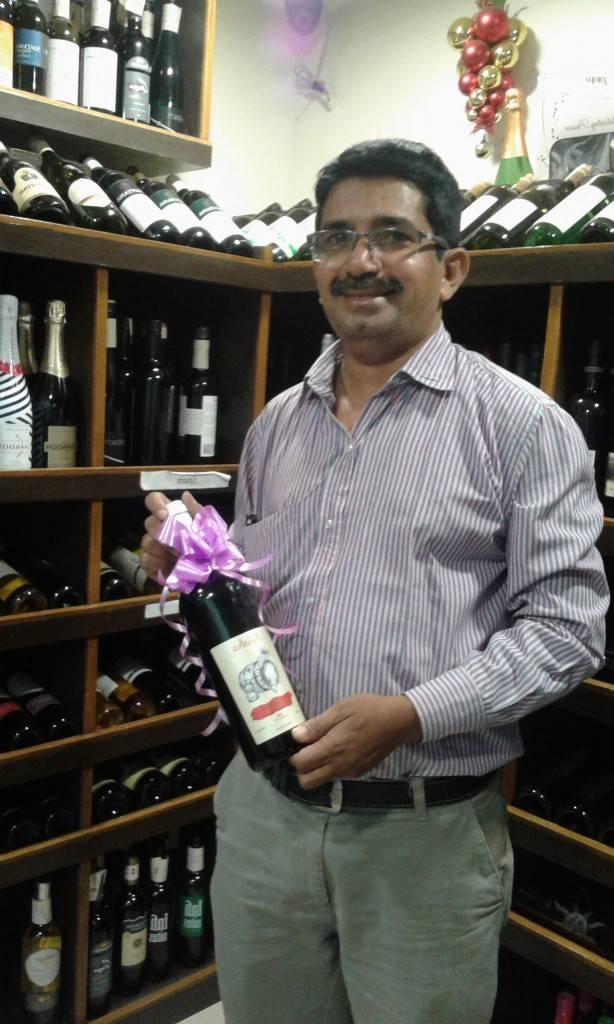 Winemaker Rajesh Rasal