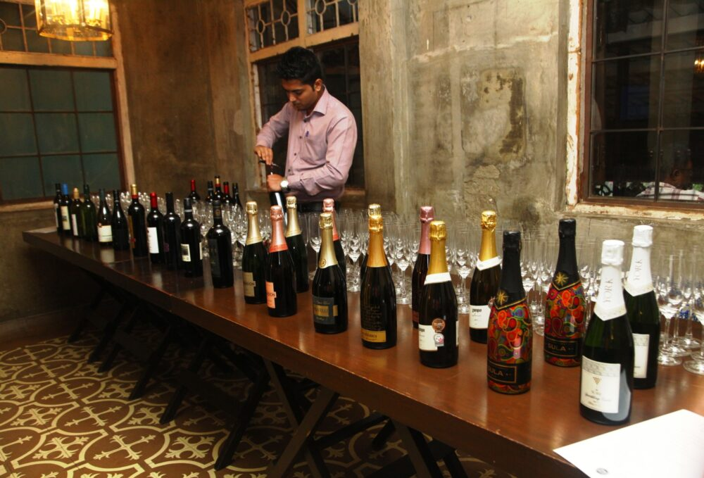 Wines displayed at the launch (1)