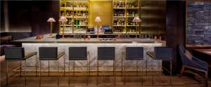 Bar at Indian Accent, New York