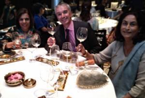 Etienne with Sunita Shahaney, Hony Consul for Chile & Minnie Menon