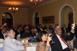 Guests enjoying World Malbec Day