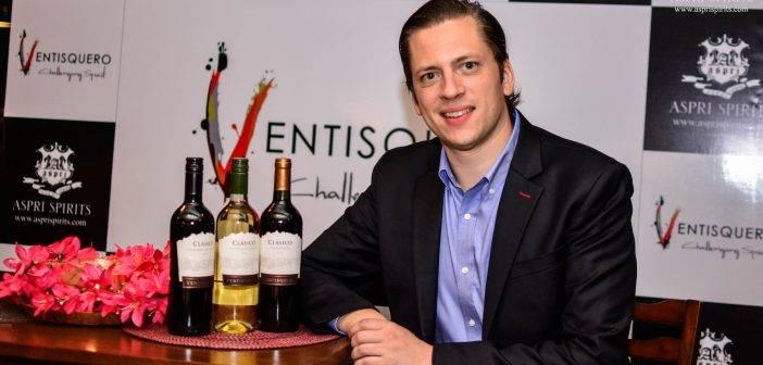 Aspri Spirits brings Chile's Viña Ventisquero wines to India