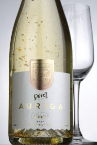 Auriga - India's first ever sparkling wine with gold flakes