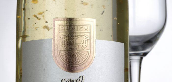 Auriga – the first Indian sparkling wine with gold  flakes