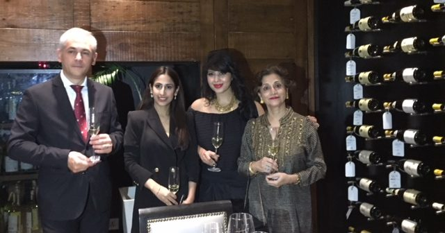 Sartori di Verona Wine Dinner at PA PA YA