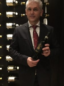 Daniele Cristanelli ,  Export Manager from the House of Sartori di Verona ori di Verona,
