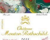 Château Mouton Rothschild 2015 label – new illustration