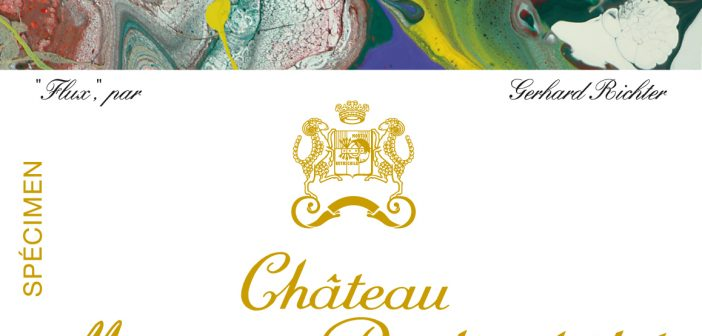 Château Mouton Rothschild 2015 label – new illustration