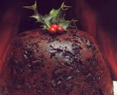 Christmas Pudding, served in homes and clubs across India