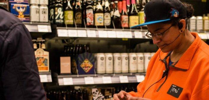 Amazon dancing with wine and tech enters physical retail