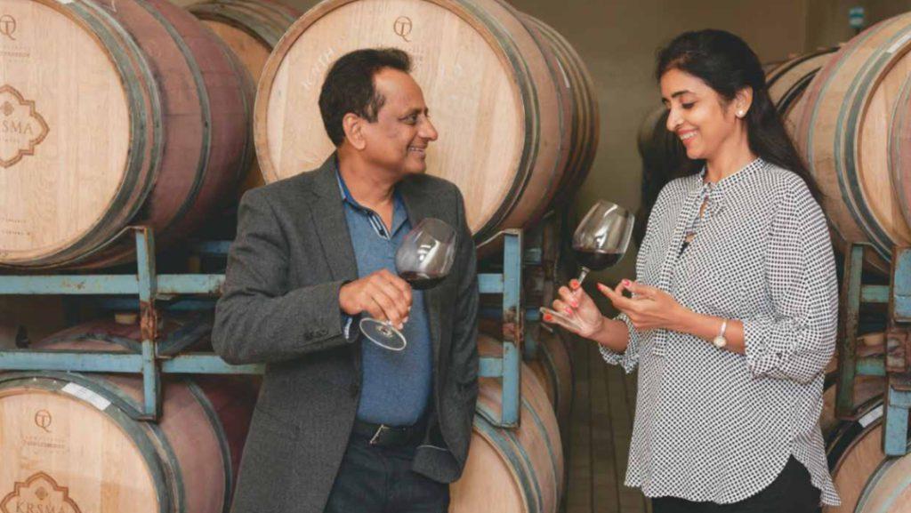 Uma Chigurupati and Krishna Chigurupati of KRSMA Estates