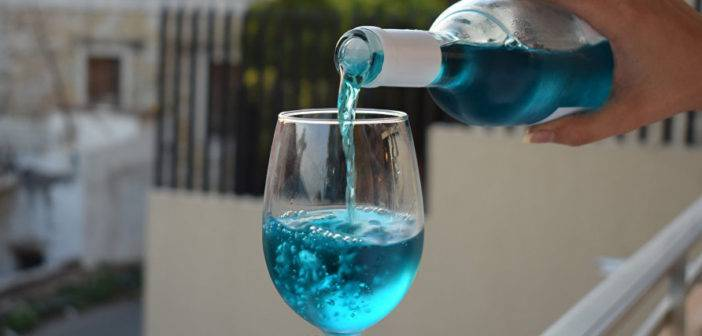 Blue Wine may leave skeptics blue in the face